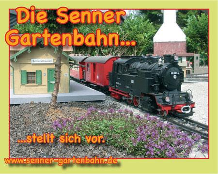 Die Senner Gartenbahn