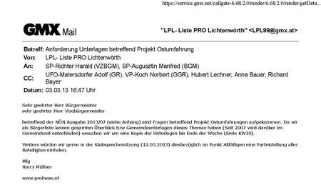 Email an den Bürgermeister 20130303