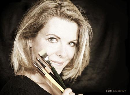Portrait Cécile Baeriswyl alias Couleur Caméléon