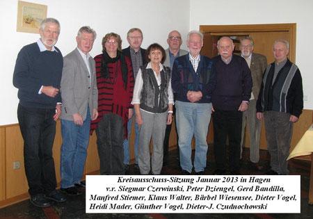 Kreisausschuß Mitglieder 2013
