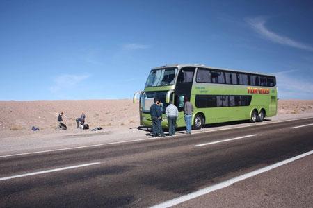 Motorschaden in der Wüste
