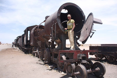 Cementario de Trenes