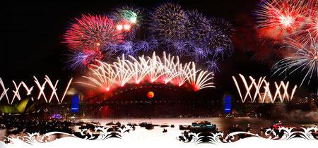 Sydney Feuerwerk (Quelle: Vivacity Sydney)