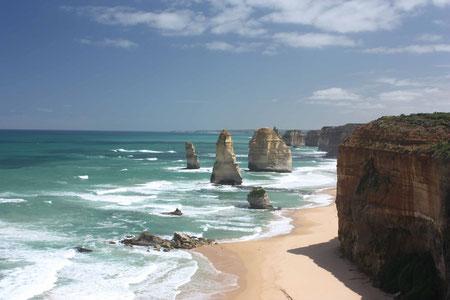 Die 12 Apostel - das Wahrzeichen, neben dem Ayers Rock, Australiens