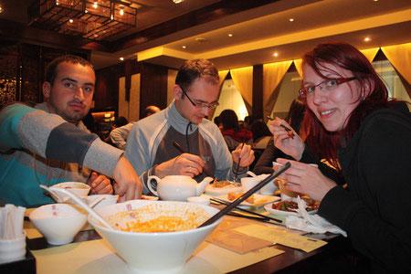Lecker Essen im Xia Fei