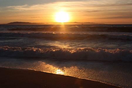 Sonnenuntergang bei Ventura