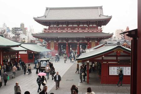 Senso-ji Tempel in Asakusa