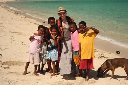 Am Strand von Naviti Island