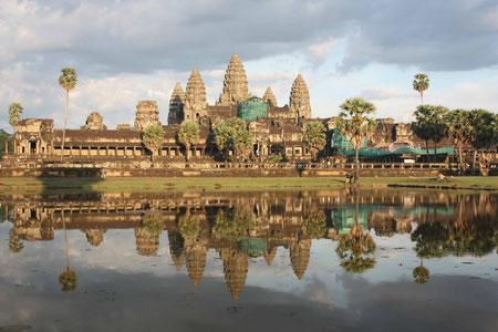 Angkor Wat in der Abendsonne