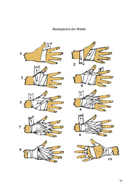 bandagieren Bandagen