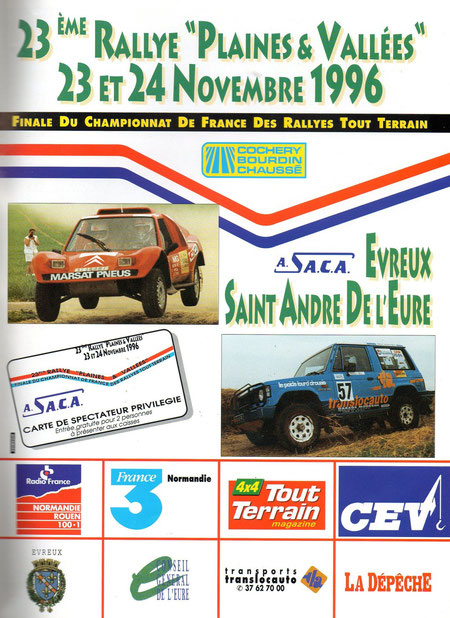 1996 - Tout Terrain Magazine - Publicité