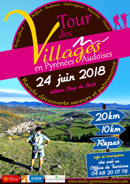 Tour des Villages en Pyrénées Audoises 2018 - Edition Pays de Sault