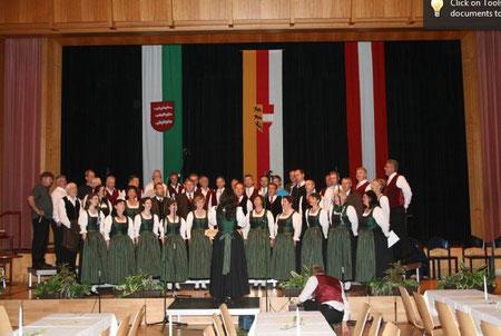 """Jubiläumskonzert """"Kärntner Sänger Knittelfeld"""" Veranstaltungszentrum Knittelfeld"""