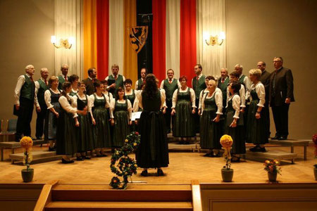 Liederabend im Rathausfestsaal Wolfsberg