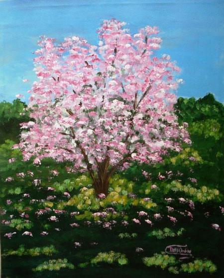 Dell'Ordine Silvana - Primavera - acrilico tela  - 40 X 50