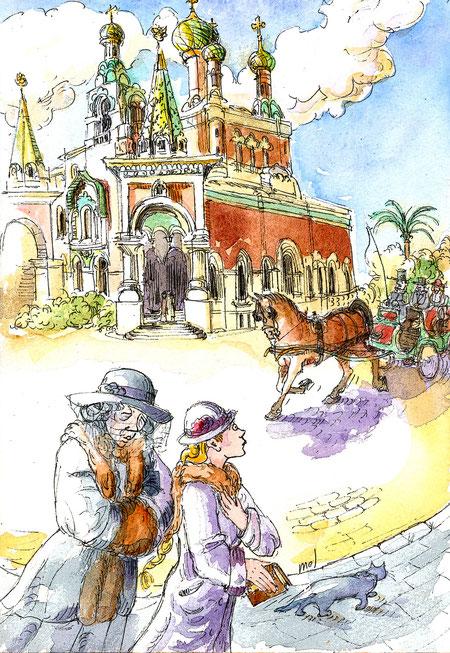 La cathédrale orthodoxe de Nice