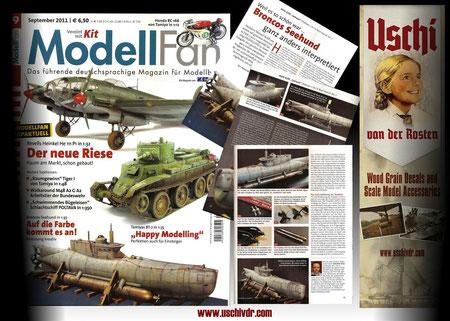 Bronco´s Type XXVII midget sub in ModellFan.
