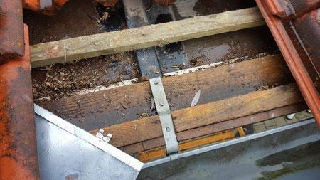 Zu geringe Dachneigung bei Dachziegeldeckung