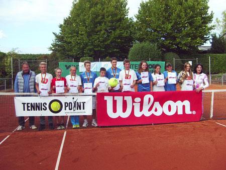 Sieger, Siegerinnen und Platzierte am Sonntag 20. September  in Neustadt
