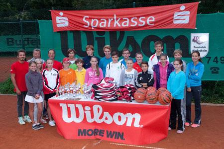 Siegerehrung TC Meckesheim