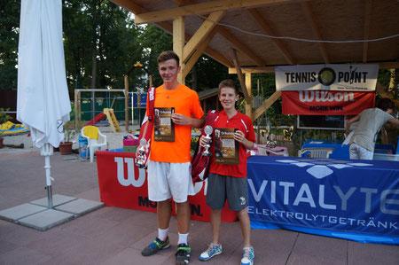 Sieger: Benedikt Boll, Tiengen, 2. Platz Jonathan Morr,  Mannh. Turn- u. Sportges.