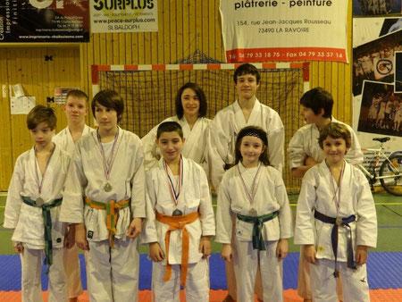 Janvier 2013 - Championnat de Savoie Kumité
