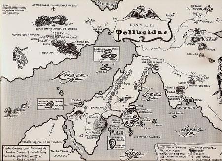 Au cas ou vous auriez égaré toutes vos cartes stellaires en voici une de Pellucidar qui vous permettra de vous y retrouver.