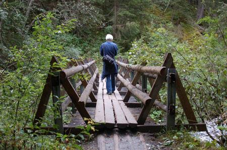 Brücke über die Clemgia