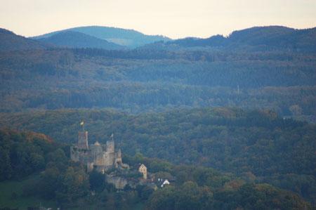 Blick zur Burg Rötteln