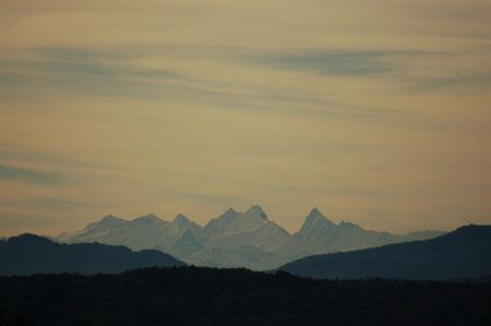 Morgenspaziergang Tüllinger Hügel 18.10.12 mit herrlicher Aussicht