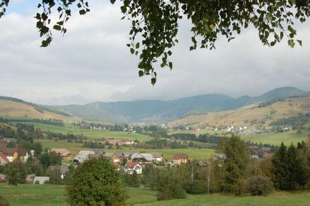 Blick auf das Bernauer Tal