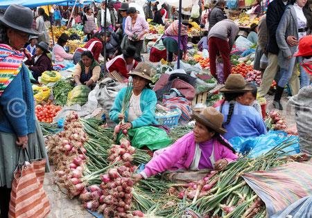 Marché de Pisac  30km de Cusco  Pérou