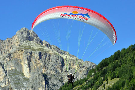 Flugsport in Corvara