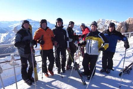 Drachenfliegerclub Pfalzen - Skiausflug Lagazuoi