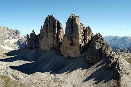 Ausflug zu den drei Zinnen - Dolomiten