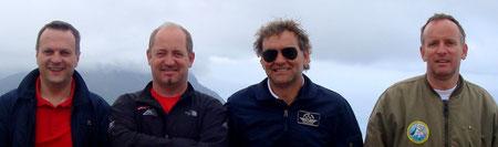 Erich & Ossi - Armin & Franz waren unterwegs Richtung Süden  - Stiefelrunde