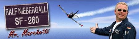 Ralf Marchetti - Siai Marchetti SF-260 Aerobatics