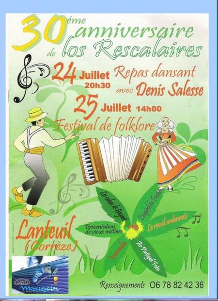 Avec les groupes: Los Rascalaires, le Réveil ardennais, L'Esquirol du Tescou , Ar Piuntiged foën, les cabas , les vieux métiers d'Ocoranda