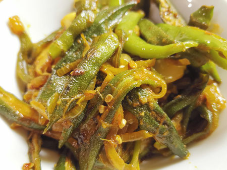 Bandakka Curry - Okra/Ladies Fingers