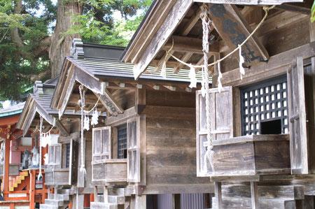 山神社・天神社・甲子社