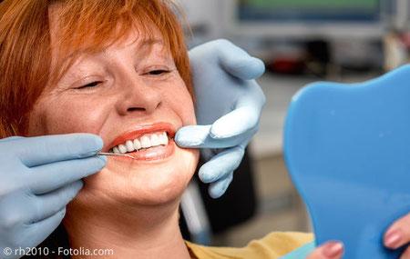 Persönliche Beratung in der Zahnarztpraxis  Dr. Uwe Grosch, Coburg