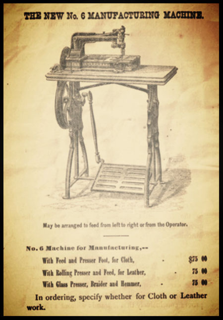 The New No. 6 Manufacturing Machine (1873-1875)