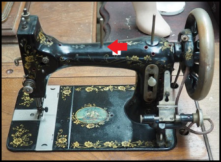 Mundlos - F.J Cock's sewing machine
