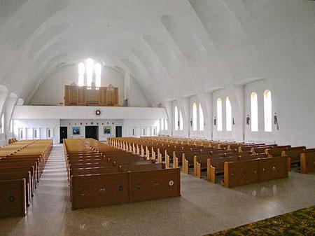 Tel qu'installé à l'église Notre-Dame-de-Pitié de Québec