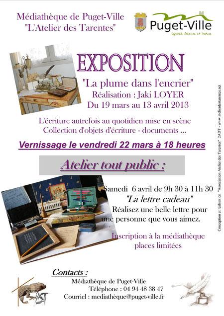 """EXPOSITION Jaki LOYER - Voir reportage dans la rubrique """"Expositions"""""""