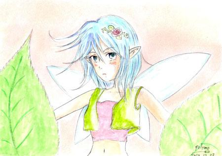 『植木に住んでる妖精さん』