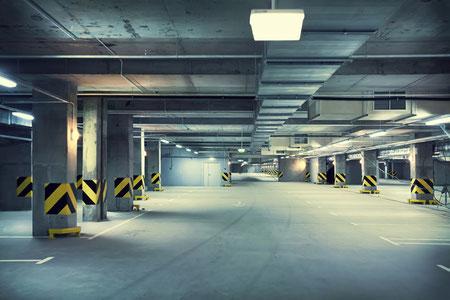 Reinigung Tiefgarage Garagenreinigung