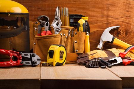 Hausmeisterbetreung Facility Management Werkzeug