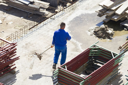Baustelle Grobreinigung Baugrobreinigung