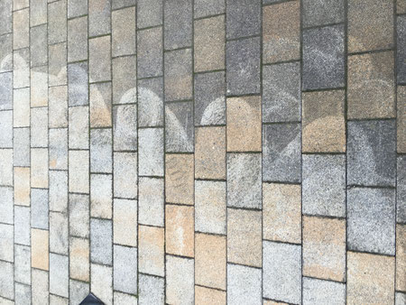 Reinigung Aussenanlage Pflastersteine